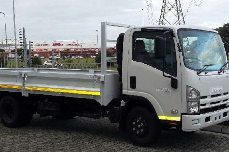 Isuzu Dropside NEW NPR 400 Manual with drop side and tow bar Truck