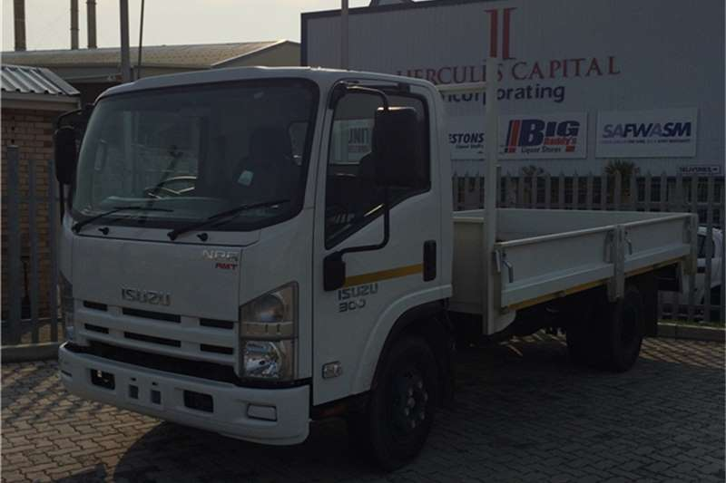 Isuzu Dropside NPR 300 AMT Truck