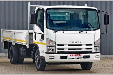 Isuzu Dropside NPR 300 Manual Truck