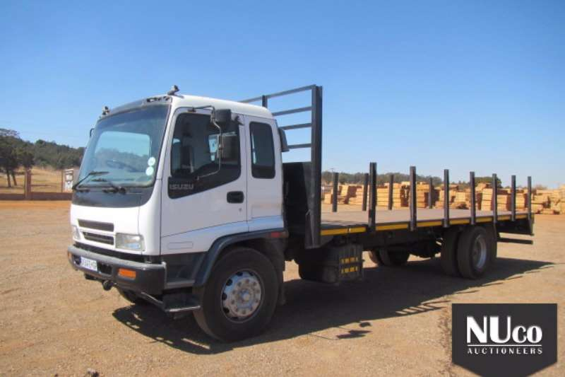 Truck Isuzu Flat Deck ISUZU FTR800 FLAT DECK 2008