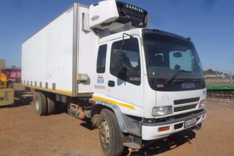 Isuzu Fridge truck Isuzu FTR800 Carrier Supra 850&Dhollandia Taillift Truck