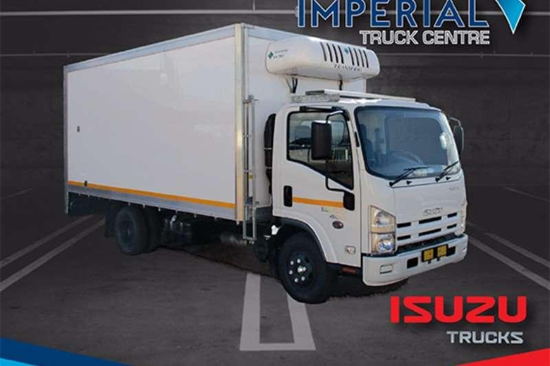 Isuzu Fridge truck NPR 400 AMT Meat Hanger Truck