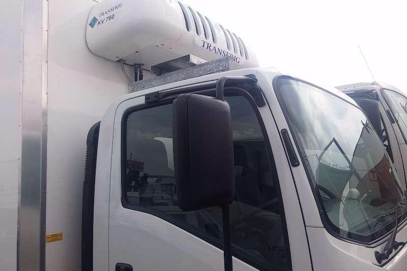 Isuzu Fridge truck NPR 400 AMT Meat Hanger Demo Truck