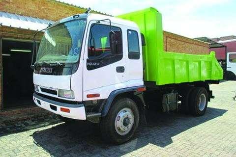 Isuzu FTR 800 tipper 6cub Truck
