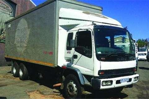 Isuzu FVZ1400 Pantech Body- Truck