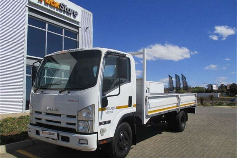 Isuzu NPR 400 AMT with dropside body Isuzu Truck