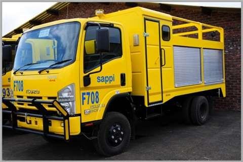 Isuzu Other NEW NPS 300 4x4 Truck