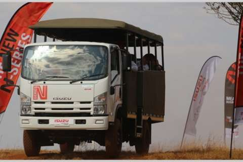 Isuzu Other NPS 300 4x4 SWA Truck