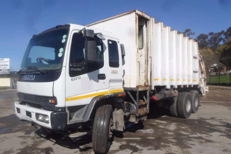 Isuzu Refuse disposal Isuzu FVZ1400 Compactor Truck