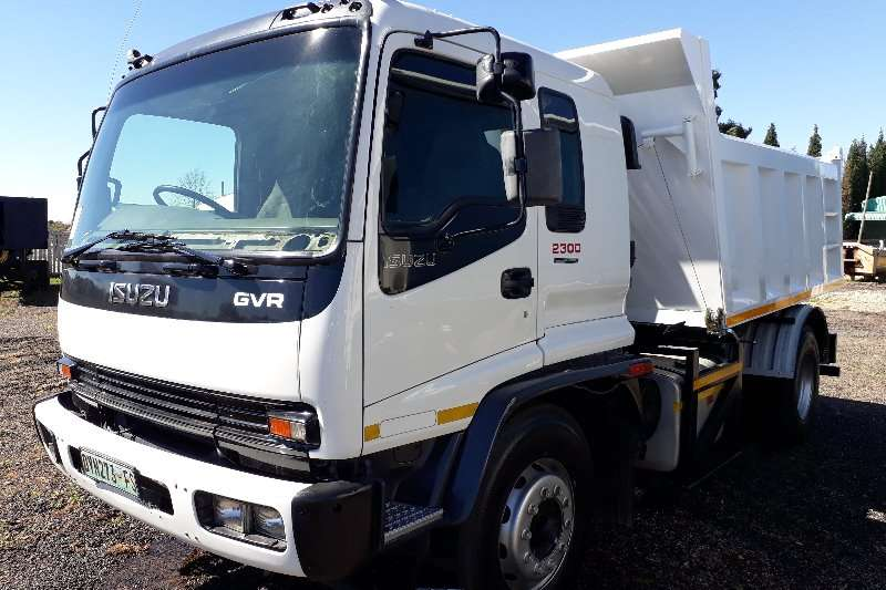 Isuzu Tipper GVR2300 Single Axle Tipper Truck