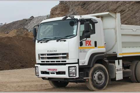Isuzu Tipper NEW FXZ Tipper Truck