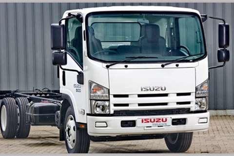 Isuzu Van body NEW NQR 500 AMT Truck
