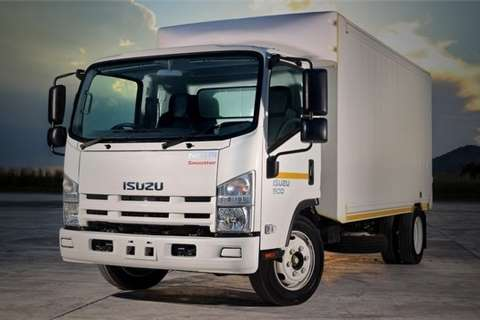 Isuzu Van body NQR 500 AMT Truck