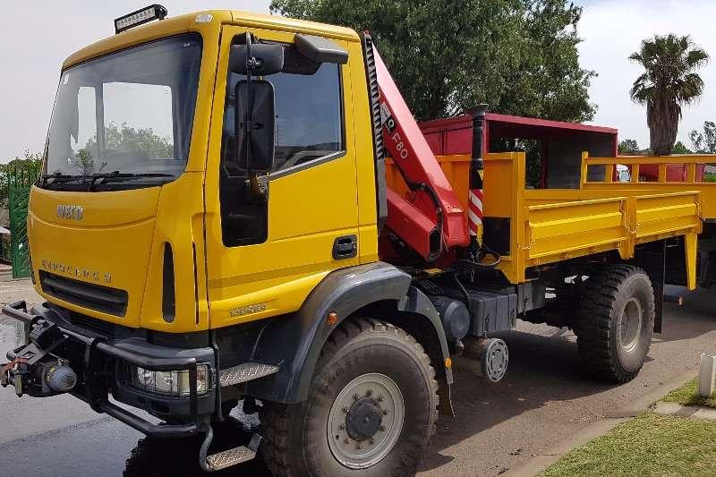 Iveco Crane truck EUROCARGO 140E24 4X4 Truck