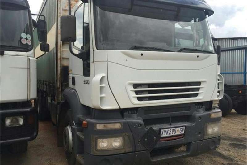 Truck Iveco Iveco Eurotech Tautliner 2004