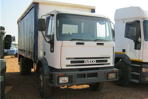 Iveco Other Iveco White Taut Liner Truck