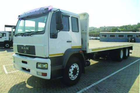 Truck MAN 25-220 Tautliner Body- 2006