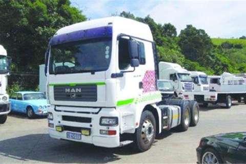 Truck MAN 26.480 TGA- 2008