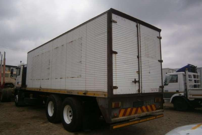 MAN Closed body TGM 25-280 Truck