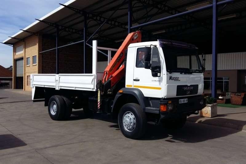 MAN Crane truck M2000 LE18-220 Palfinger PK12000 Truck