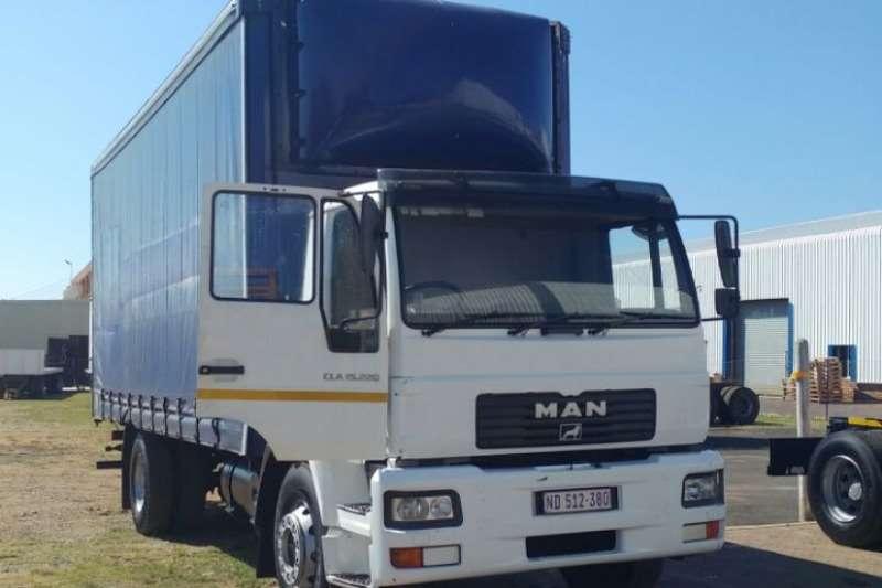 Truck MAN Curtain Side CLA 15.220 2012