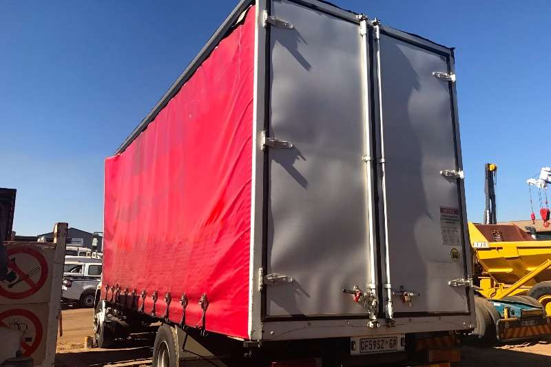 MAN Curtain side CLA15-220 TAUTLINER Truck