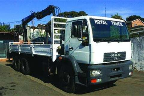 MAN LE26.280 6x4 Dropside Body- Truck