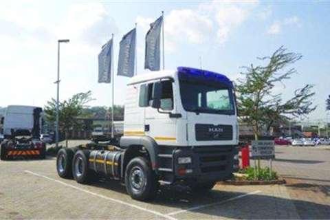 MAN TGA 33.480 6X4 Truck Tractor- Truck