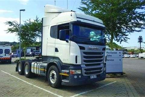 MAN TGS 27.440 6x4 Truck Tractor- Truck