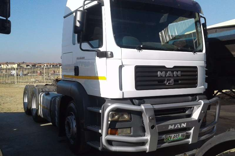 MAN TRUCK SOLD WITH 34 TON SIDE TIPPER CONTRACT Truck