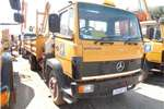 Truck Mercedes Benz 1214 7 TON DROPSIDE TRUCK WITH CRANE 0