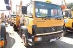 Truck Mercedes Benz 1214 7 TON DROPSIDE TRUCK WITH CRANE 0