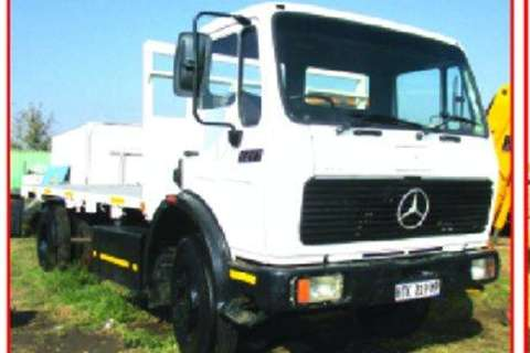 Truck Mercedes Benz 1417 ADE 366T Recon engine- 0