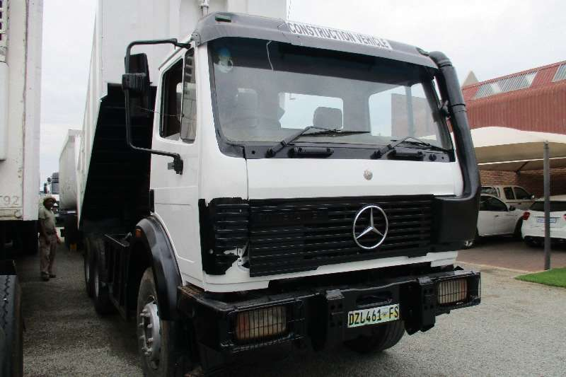 1998 mercedes benz 26 29 powerliner 10m tipper truck trucks for sale in gauteng on truck trailer. Black Bedroom Furniture Sets. Home Design Ideas