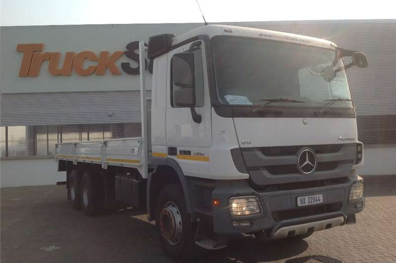 Mercedes Benz 3350/45 with dropside body  Truck