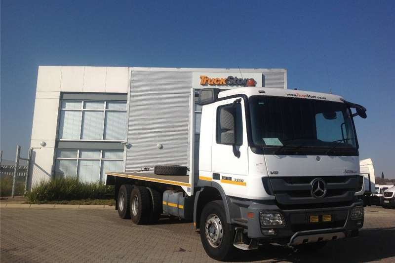 Truck Mercedes Benz 3350/45 with flat deck body  2010