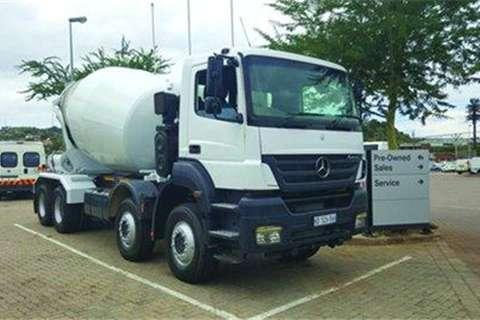 Mercedes Benz 3535K/S1- Truck