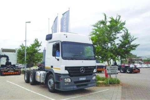 Truck Mercedes Benz Actros 2650LS/33, 6x4 Truck tractor- 2008