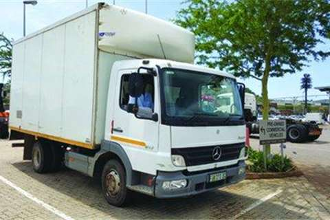 Truck Mercedes Benz Atego 817/42 Volume Body- 2009
