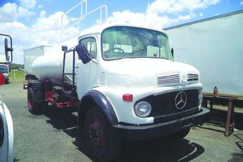Mercedes Benz Bull Nose 10 - 13- Truck