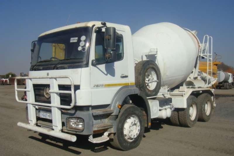 Truck Mercedes Benz Concrete Mixer 2628 2007