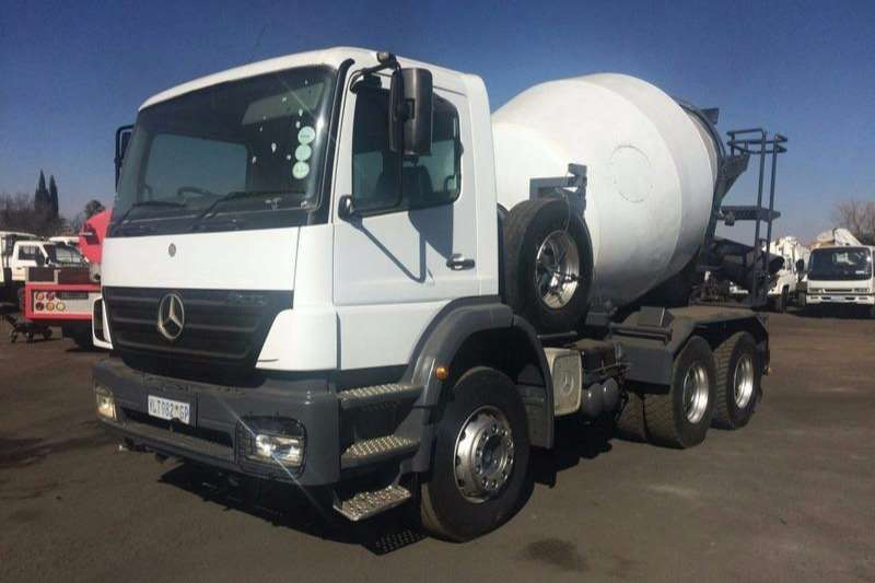 Truck Mercedes Benz Concrete Mixer 2628 CEMENT MIXER 6 CUBE 2009