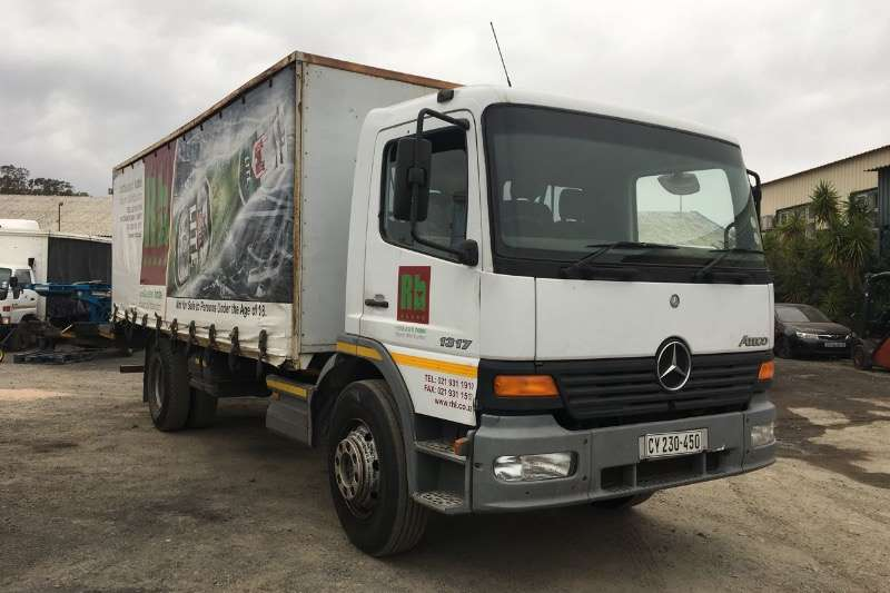 Mercedes Benz Curtain side ATEGO 1317 TAUTLINER Truck