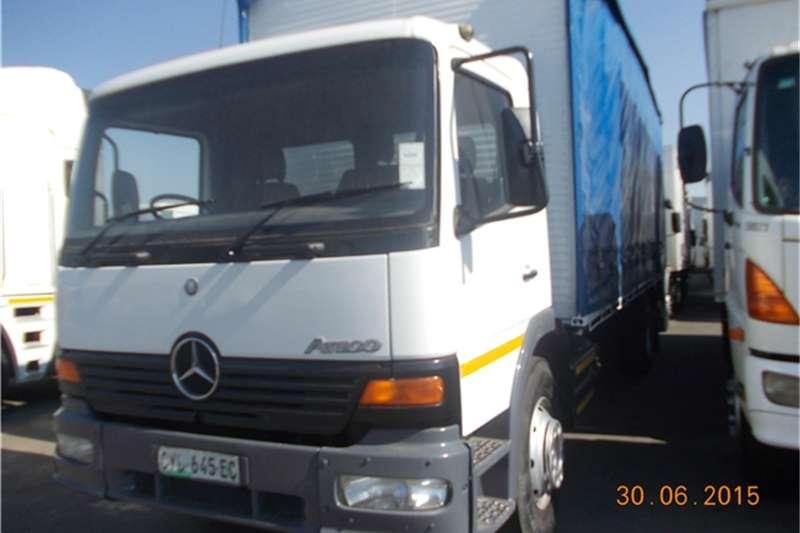 Mercedes Benz Curtain side Mercedes Benz Truck