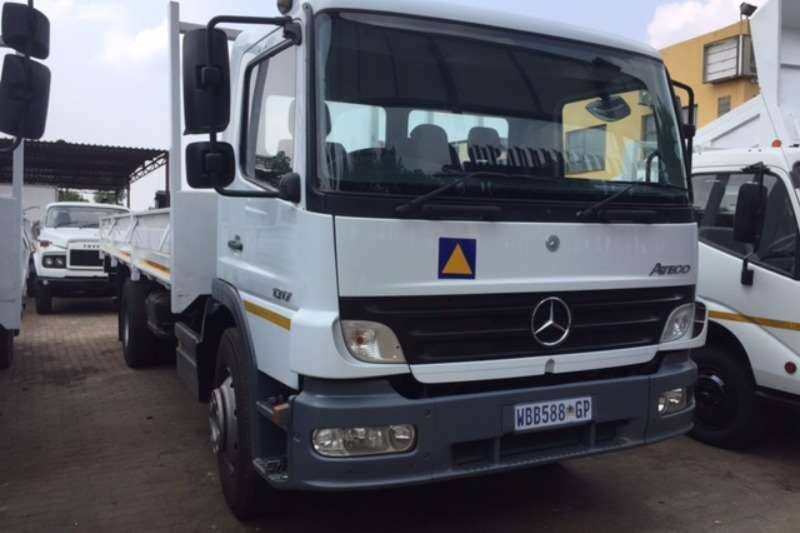 2007 mercedes benz mercedes benz 1317 atego dropside truck for Mercedes benz trucks