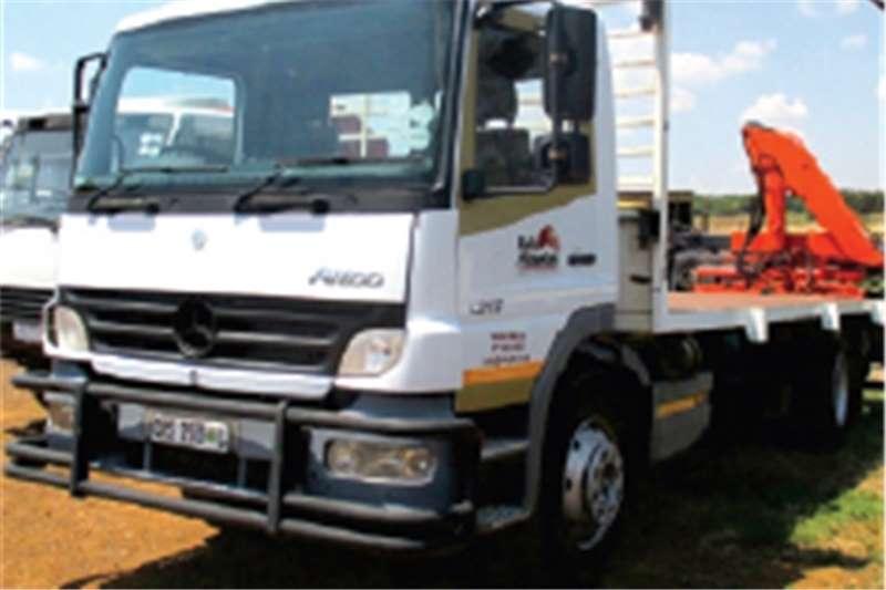 Truck Mercedes Benz Flat Deck ATEGO 1317 HIGH UP 2007