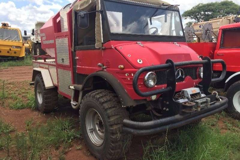 Mercedes Benz Other 1985 Unimog mercedes 4x4 fire fighters Truck