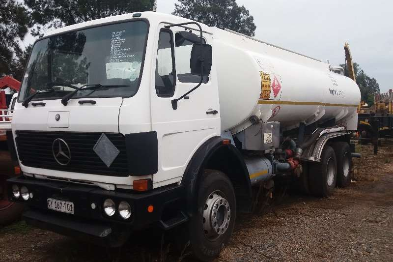 Truck Mercedes Benz Other 22-19 17 000L Fuele Tanker 1984