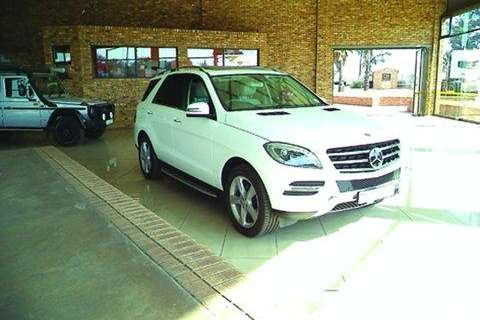 Truck Mercedes Benz Other ML 500 4 Matic- 2014