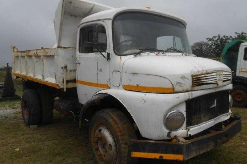 Truck Mercedes Benz Tipper 0